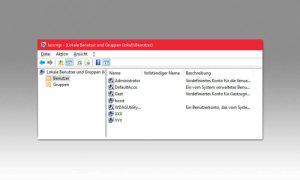 Windows 10 neuen Benutzer anlegen